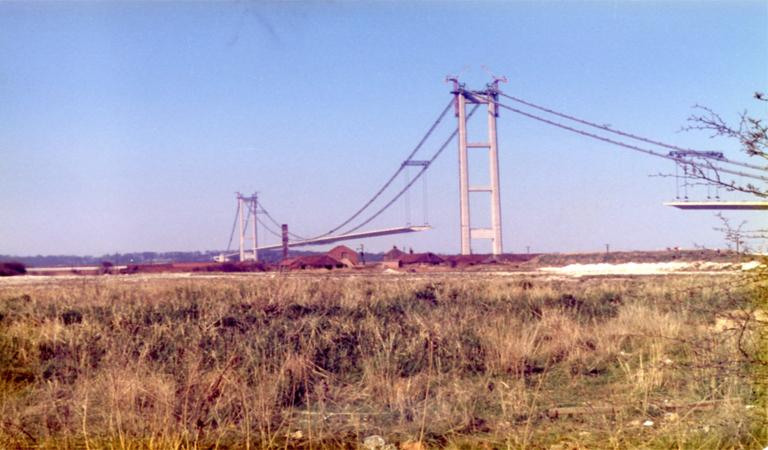 Construction of Humber Bridge celebrated in exhibition at Barton's Baysgarth House