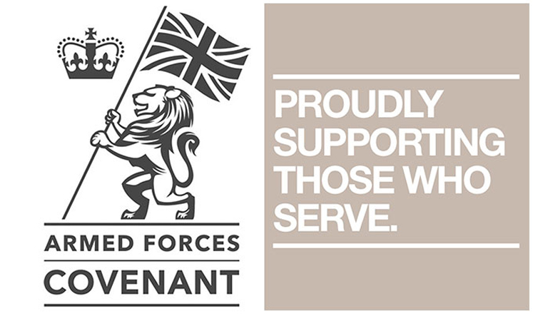 Support for Armed Forces community available at hubs
