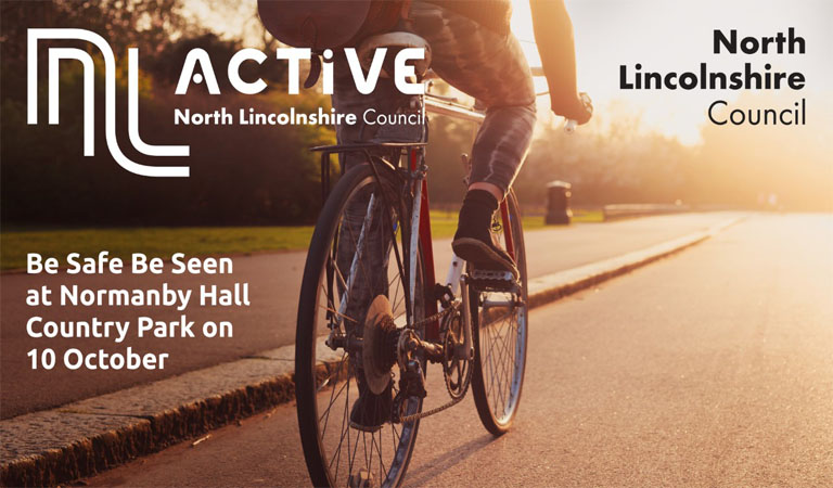 Be Safe Be Seen – join a free led cycle ride