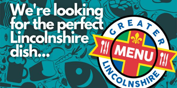 Graphic promoting the Greater Lincolnshire Menu competition