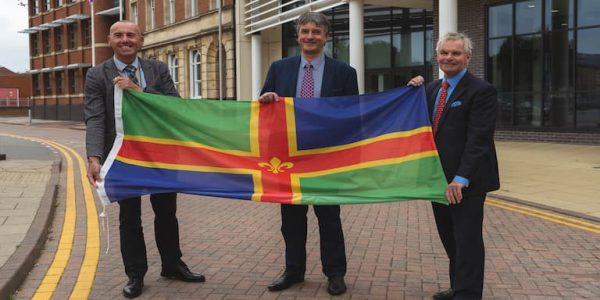 GreaterLincsLeaders- Cllr Waltham (left), Cllr Jackson (Middle) & Cllr Hill (Right)