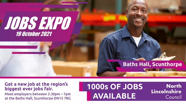 Change your future at North Lincolnshire's biggest ever Jobs Expo