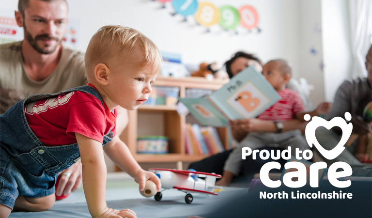Free childcare for homecare workers in North Lincolnshire