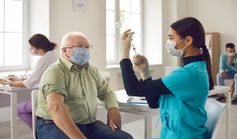 Vaccine and flu jabs vital for winter boost to immune system
