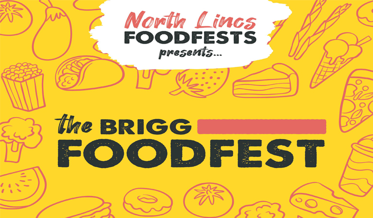 Delicious street food served at Brigg FoodFest