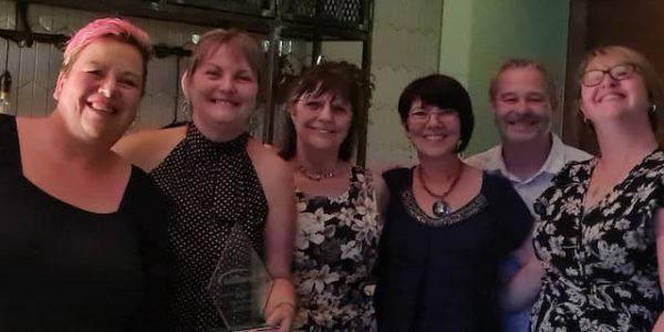 Catering team LACA award